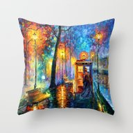 The Doctor Starry The Ni… Throw Pillow