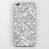 Animal Block iPhone & iPod Skin