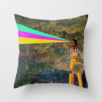 I Don't Know Throw Pillow