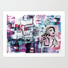 Cheap Date Art Print