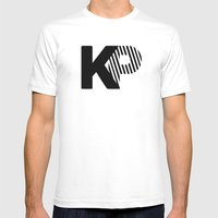 KP Mens Fitted Tee White SMALL