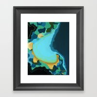 The Sea And The Girl Framed Art Print