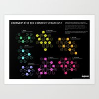 Partners For The Content… Art Print