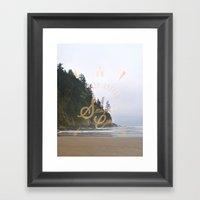 The Smuggler's Cove Framed Art Print