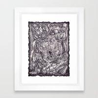 Genuflect Framed Art Print