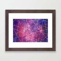Fly Up to the Heavens (color) Framed Art Print