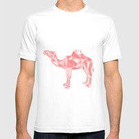 Red Mirage Mens Fitted Tee White SMALL