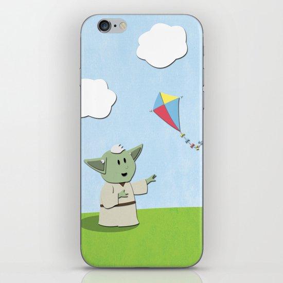 SW Kids - Yoda Kite iPhone & iPod Skin
