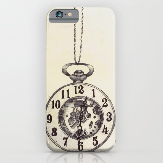 Ballpoint Pen, Half Hunter Pocket Watch iPhone & iPod Case