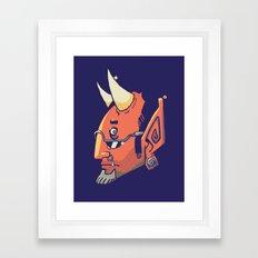 El Capiroto Framed Art Print