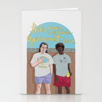 pulp fiction Stationery Cards featuring Pulp Fiction by Mexican Zebra