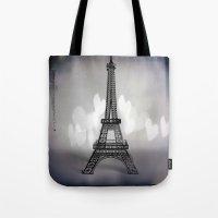 La Ville De L'amour Tote Bag
