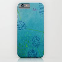 Icosahedron (Water) iPhone 6 Slim Case