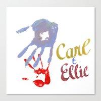 Carl & Ellie Canvas Print