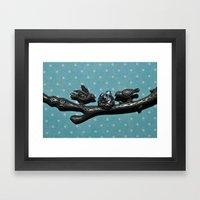 Bird Love Framed Art Print