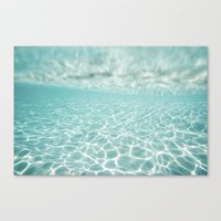 Under Water Light Canvas Print