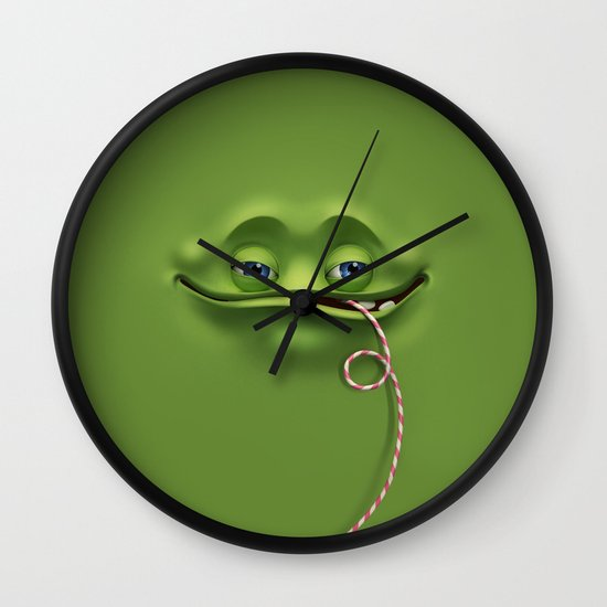 Joyful face Wall Clock