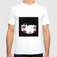 IN A Square Mens Fitted Tee White SMALL