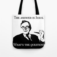 Karl Barth Tote Bag