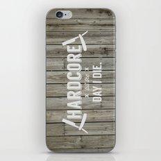 x HARDCORE x iPhone & iPod Skin