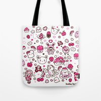 Kawaii Friends Tote Bag