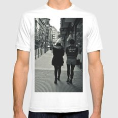 PonteYork Mens Fitted Tee White SMALL
