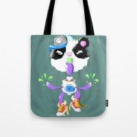 Creepy Cutie Tote Bag
