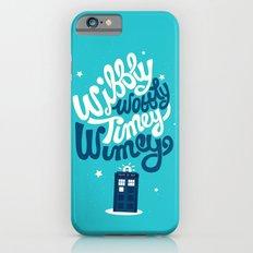 Wibbly Wobbly Timey Wimey iPhone 6s Slim Case
