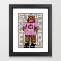 Stop The H8 Framed Art Print