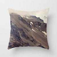 Rocky Mountain Hike Throw Pillow