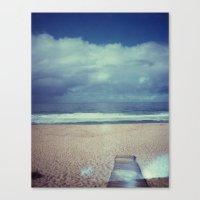 Tura Beach, Polaroid Canvas Print
