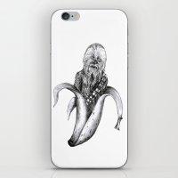 Chewbacca banana iPhone & iPod Skin