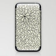 Pearlised Drops - Ivory iPhone & iPod Skin