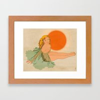 Malibu Surf Wax Framed Art Print