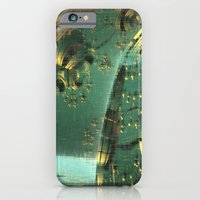 iPhone & iPod Case featuring Cannon Battery (Crosshatch Explosion) by Richard Jamison