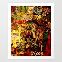 Vixen Art Print