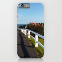 iPhone & iPod Case featuring Walkway to Byron Bay, Australia by Alexis Kadonsky