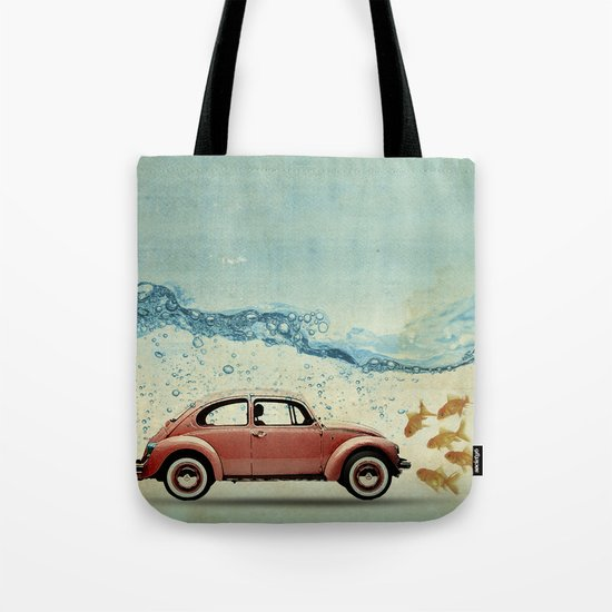 A fish out of Water Tote Bag