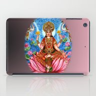Goddess Lakshmi iPad Case