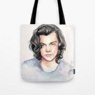 Harry Watercolors II Tote Bag