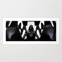 Dark Vador Art Print