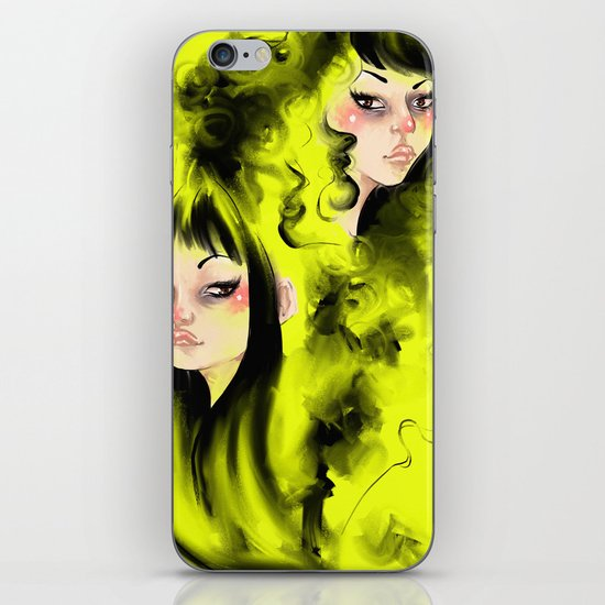 Augustine & Merry iPhone & iPod Skin