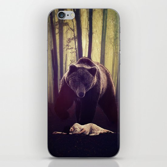 Someone's watching over me iPhone & iPod Skin