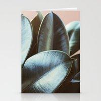 Ficus Elastica #2 Stationery Cards