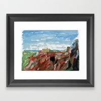 Cerro del Hierro Framed Art Print
