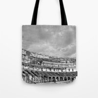 Inside of the Colosseum Tote Bag