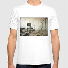 Punishment White Mens Fitted Tee SMALL