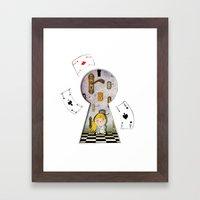 alice #4 Framed Art Print