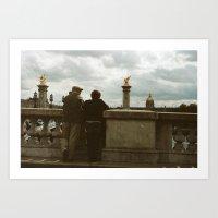 PARIS I - IN LOVE Art Print