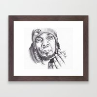 Snoop Dogg Framed Art Print